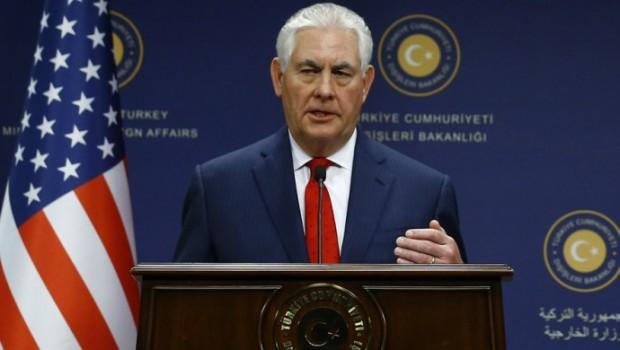 Tillerson, İbadi ile görüştü: Irak'ın birliğini destekliyoruz