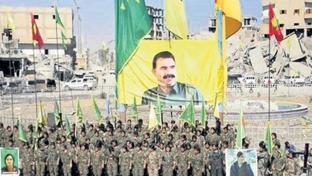 Pentagon'dan Rakka'da Öcalan posteri cevabı
