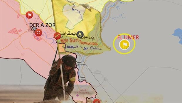 Suriye'nin en büyük petrol yatağı SDG'nin denetiminde