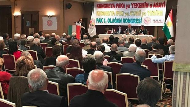 PAK 1. Olağan Kongresini Ankara'da gerçekleştirdi