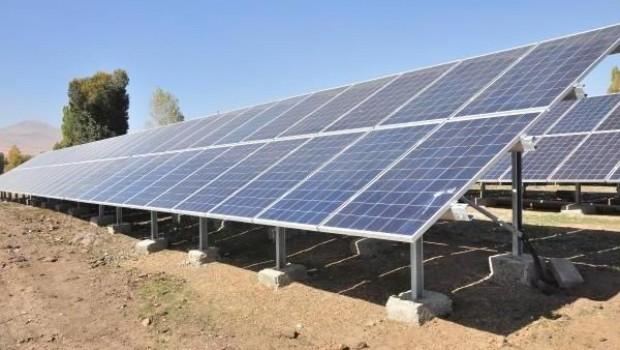 Kürt köyünün su sorunu, güneş panelleri ile çözüldü