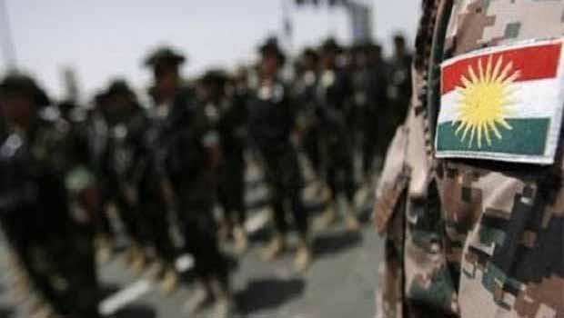 Gönüllü Şii milislere karşı, gönüllü Kürt Peşmerge birliği