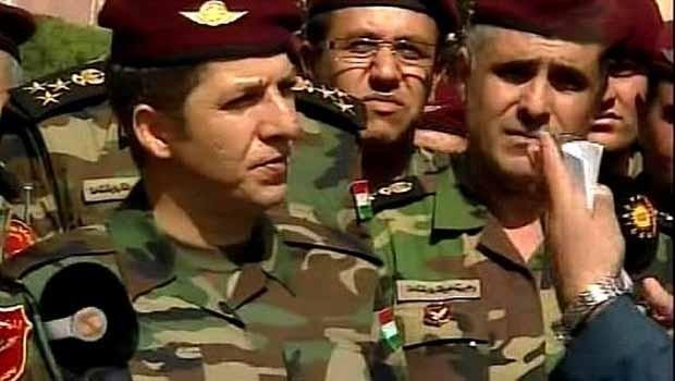 Mensur Barzani: Peşmerge ABD yapımı tankı imha etti