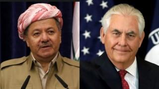 Tillerson, Başkan Barzani ile görüştü: Yardım etmeye hazırız