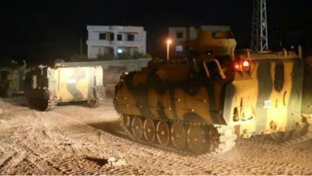 TSK, Efrin'deki stratejik noktaya yerleşti