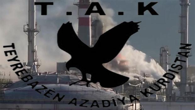 İzmir, Tüpraş patlamasını TAK üstlendi!