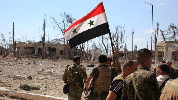 Suriye ordusu: Bölgedeki IŞİD hakimiyeti sona erdi