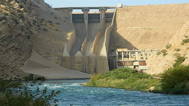 Derbendihan Barajında korkutan tehlike