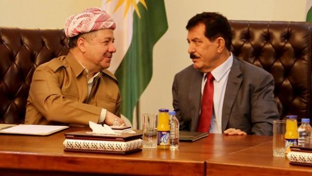 Barzani'den Kosret Resul'e telefon