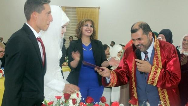 Türkiye'de ilk Müftü nikahı Diyarbakır'da kıyıldı