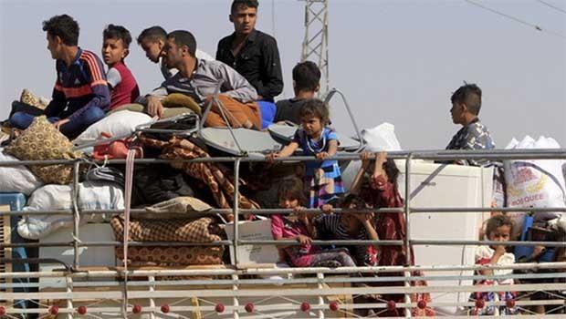 Haşdi Şabi baskısından 4 bin insan Duhok'a göç etti
