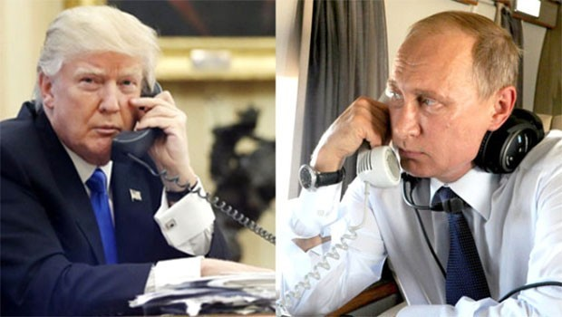 Trump ve Putin Suriye'yi görüştü