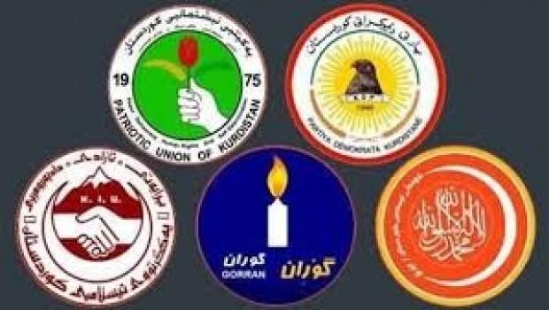 Kürdistan'da Siyasi Partiler toplanıyor