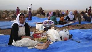 Bağdat'tan göçzedelere gıda baskısı