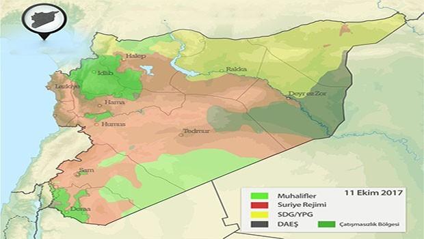Hürriyet yazarı: SDG Suriye'nin üçte birini temsil ediyor