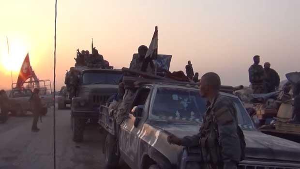 Suriye ile Irak güçleri Ebu Kemal'de birleşti
