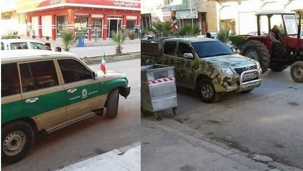 İran askeri Süleymaniye'de!