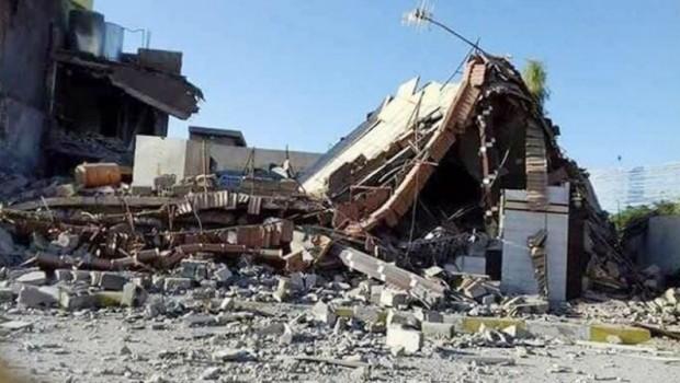 Kürt mahallelerini topa tutan Haşdi Şabi, evleri de yakmaya devam ediyor