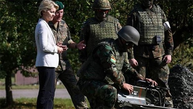 Alman Bakan: Peşmerge güçleri, verdiğimiz destekle ülkesini kurtardı