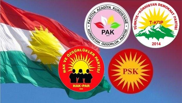 Kürdistani partilerden 'Kürdistan Bayrağı Günü' mesajı
