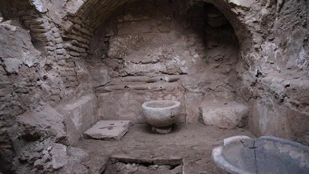 Harran'da Eyyubiler dönemine ait hamam bulundu