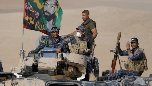Haşdi Şabi Irak- Suriye sınırına konuşlanıyor