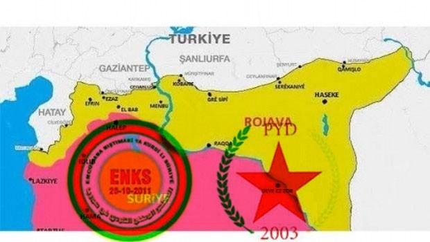 ENKS: Suriye Ulusal Diyalog Kongresi'ne PYD katılmayacak