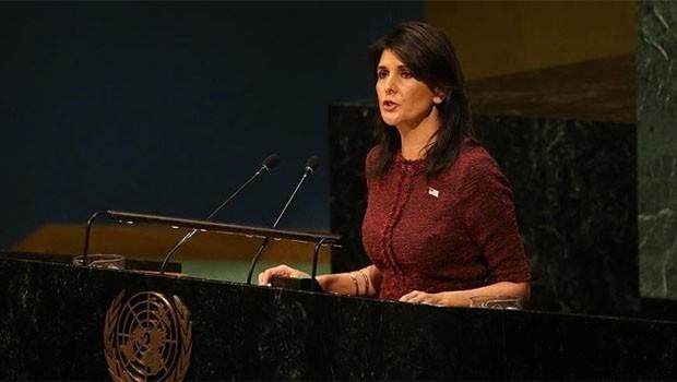 ABD'den BM'ye Kudüs yaptırımı.. 285 milyon dolar!
