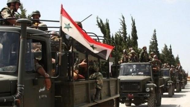 Suriye ordusu İdlib'de ilerliyor