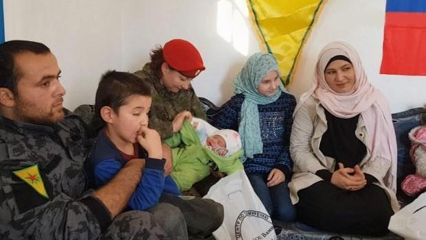 YPG, IŞİD'e katılan Rus kadının çocuklarını kurtardı