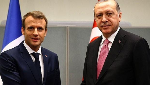 Erdoğan'dan Fransa'ya Suriye ziyareti