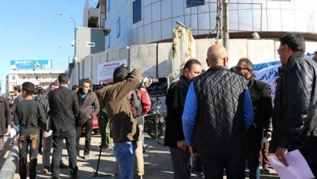 Kerkük'te basın açıklaması yapan Kürtlere gözaltı