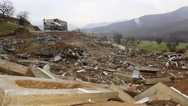 Bitlis Valiliğinden 'Garzan Mezarlığı' açıklaması