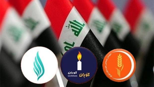 3 partiden Bağdat'a heyet bazlı ziyaret!