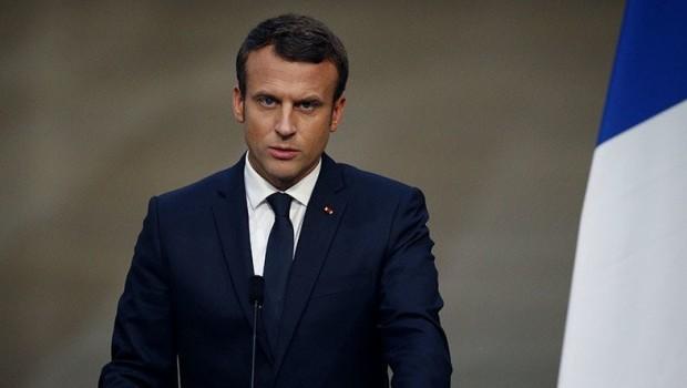 Macron: Bağdat-Erbil arasında çözüm süreci başlamalı