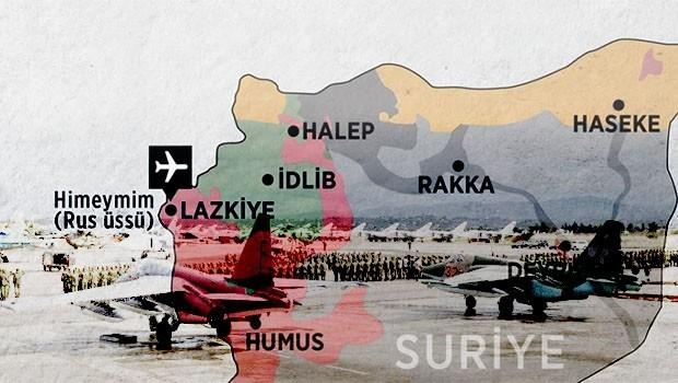 Rusya'nın Suriye'deki üssüne saldırı