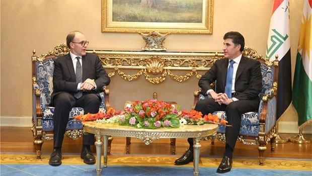 Başbakan Barzani ve ABD Büyükelçisi görüştü