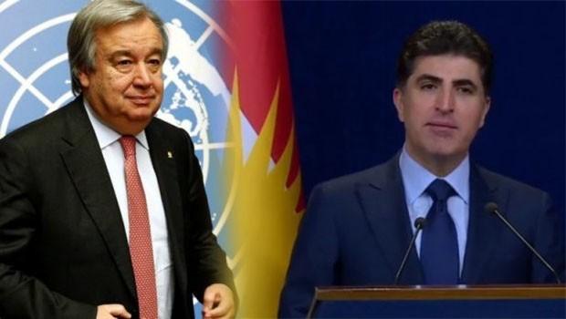 BM'den Başbakan Barzani'ye mektup!