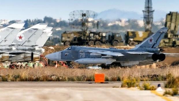 Suriye'deki Rus üssü yine hedef alındı