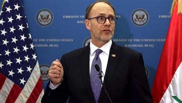 ABD Büyükelçisi: Bağdat'a, Kürdistan için baskı yapıyoruz