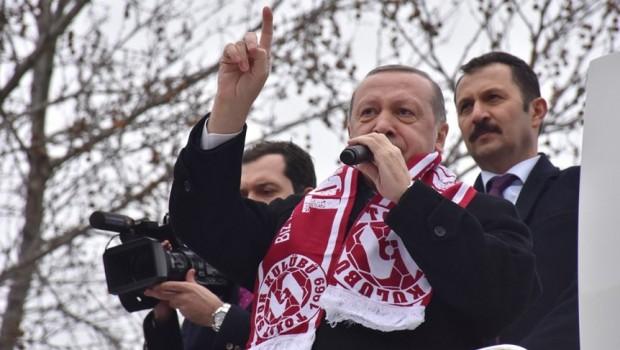 Erdoğan: Operasyona Afrin'le devam edeceğiz