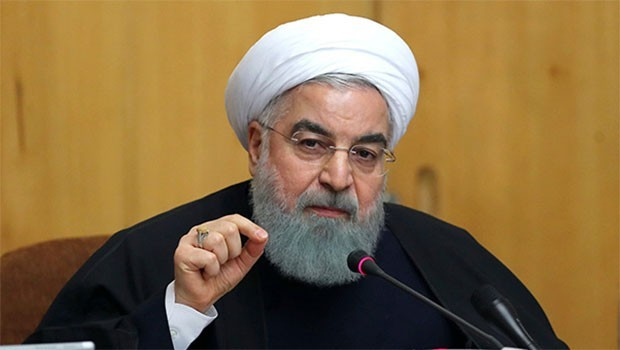 Zafer ilan etti! Ruhani'den Trump'a mesaj!