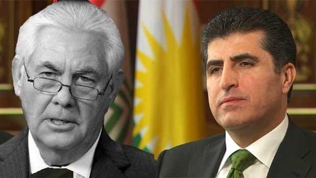 ABD'den Başbakan Barzani'ye destek telefonu