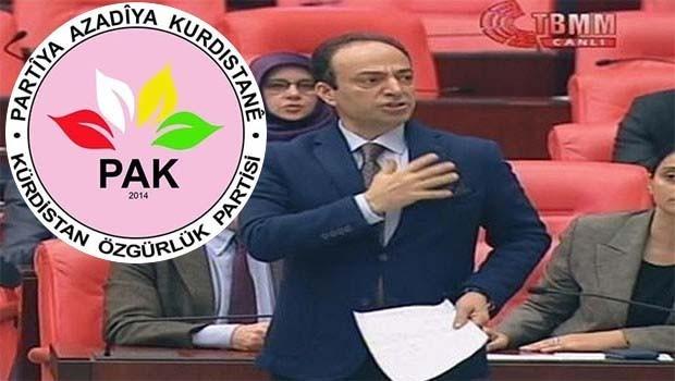 PAK: Kürdistan icad edilmiş bir kavram değildir!