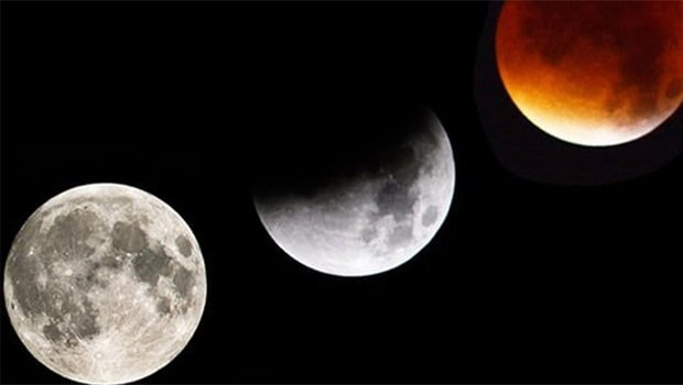 132 yıl sonra 'Süper Mavi Kanlı Ay'