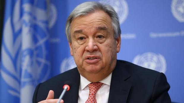 Guterres'den Suriye açıklaması :İnsani yardım ulaştırılamıyor
