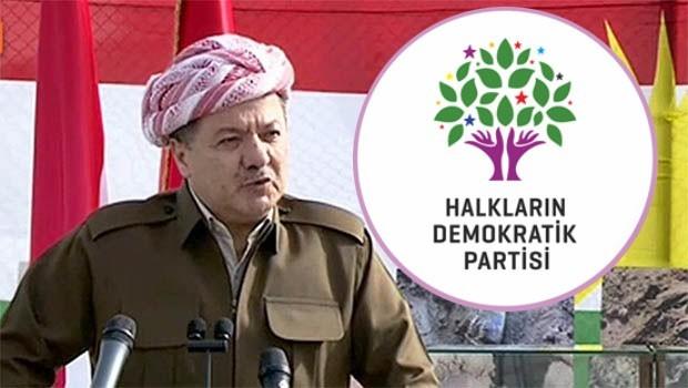 HDP'den Başkan Barzani'ye kongre daveti