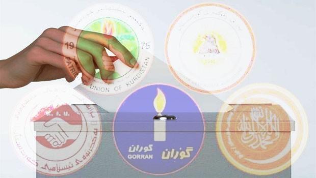 Kürdistan partileri seçime hazırlanıyor