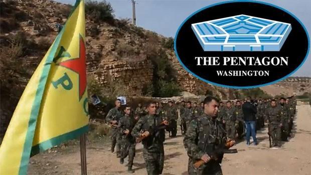 Pentagon YPG'ye bütçeyi artırdı