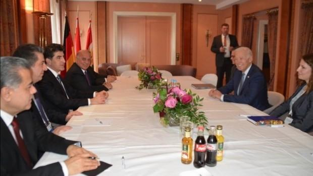 Kürdistan heyeti Joe Biden ile görüştü